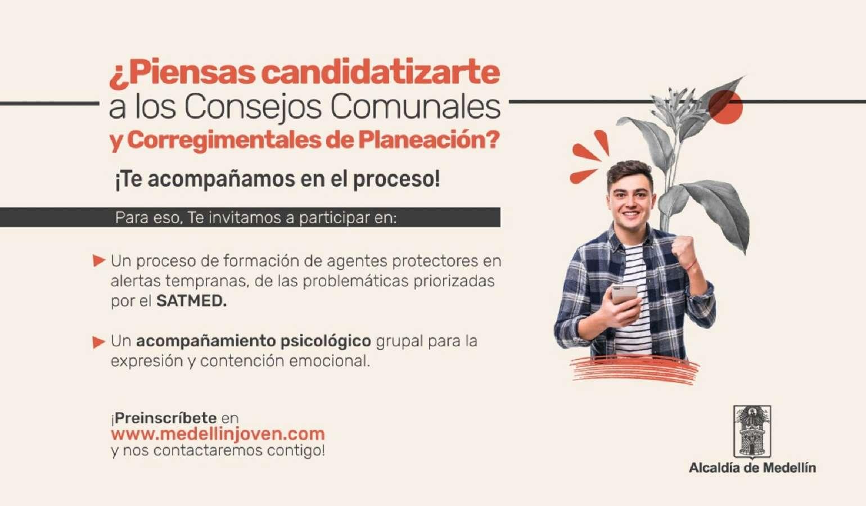 Benefíciate de la atención psicosocial a jóvenes candidatos a los CCCP