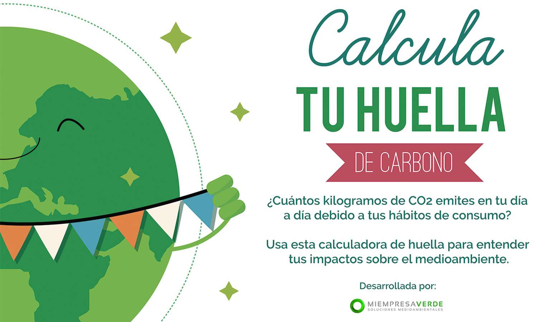 ¡Calcula tu huella de carbono!
