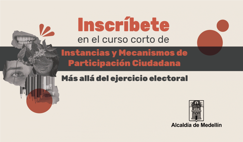 """Apúntate al curso de Instancias y Mecanismos de Participación Ciudadana. """"Más allá del ejercicio electoral"""""""