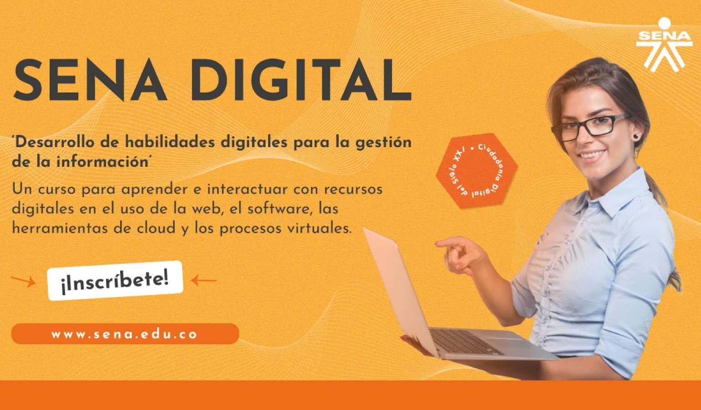 Participa en el programa: Desarrollo de habilidades digitales para la gestión de la información