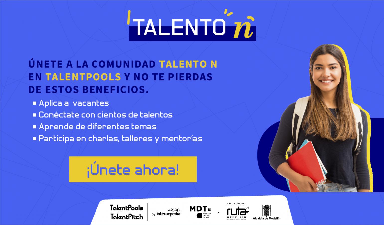 Inscríbete en Talent Pool Draft