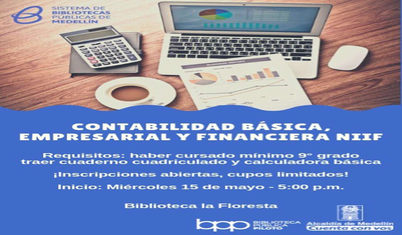 ¡Aprende contabilidad básica, empresarial y financiera!