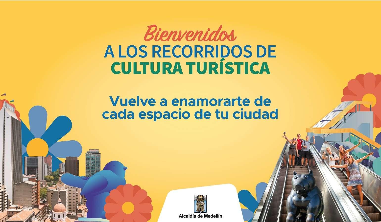 Recorre Medellín con la Cultura Turística