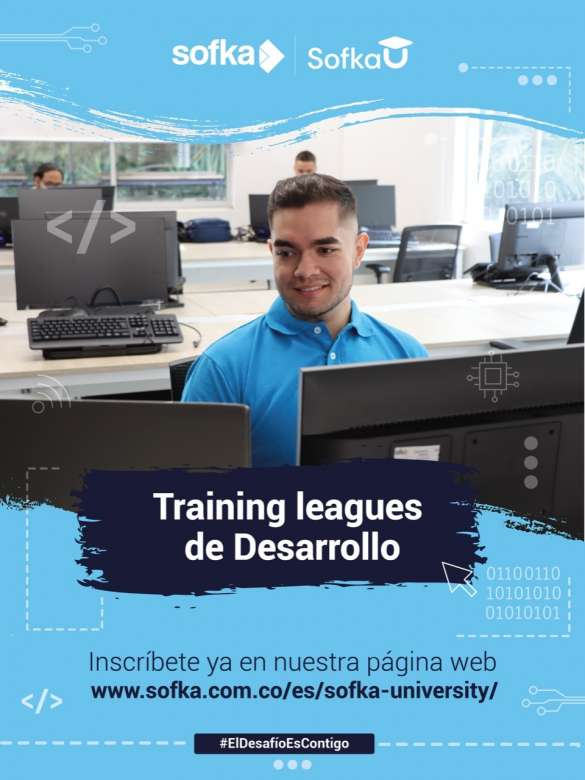 Inscríbete en la liga de entrenamiento en Desarrollo de Software