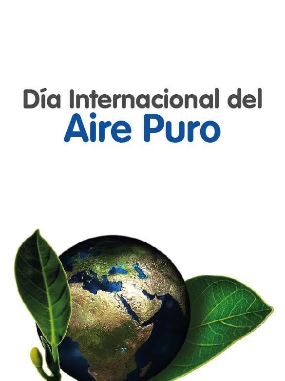 ¡Celebremos juntos el Día internacional del aire puro!