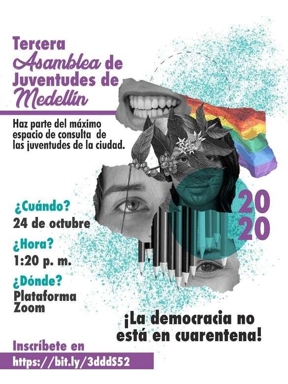 Inscríbete y participa en la Tercera Asamblea Municipal de Juventudes 2020