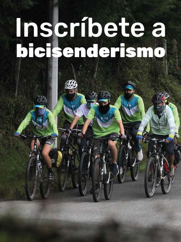 Inscríbete a bicisenderismo del INDER Medellín