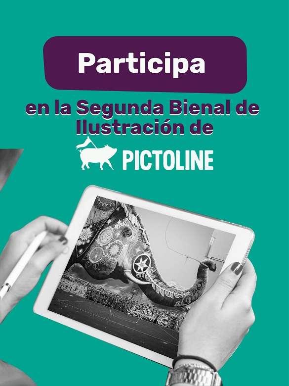 Participa en la Segunda Bienal de Ilustración de Pictoline