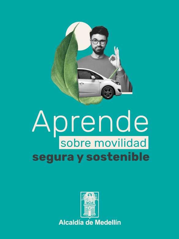 Haz parte de la plataforma virtual para fortalecer la seguridad vial en Medellín