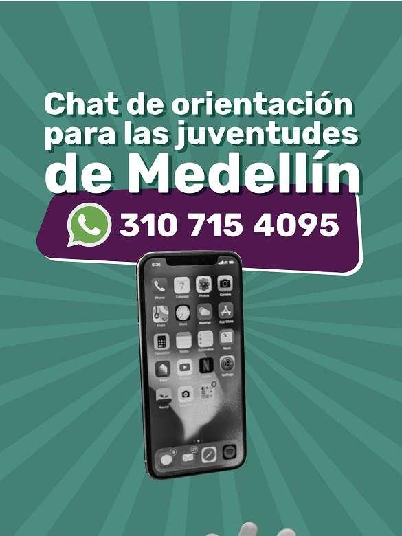 ¡Seguimos en contacto con las juventudes de Medellín a través de nuestro chat de WhatsApp!