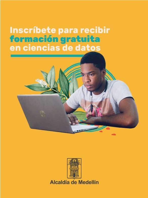 Inscríbete para recibir formación gratuita en ciencias de datos