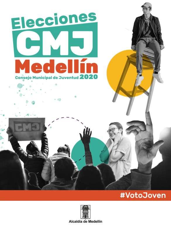 Después de 10 años, las juventudes de Medellín son convocadas nuevamente a elegir su Consejo Municipal de Juventud