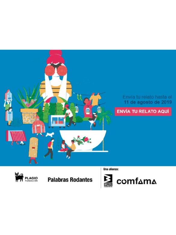 Participa en la segunda edición de #MedellínEn100Palabras