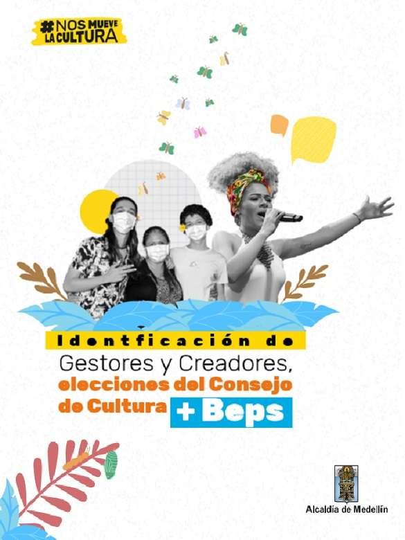 Postúlate al Consejo de Cultura de Medellín 2021 - 2025