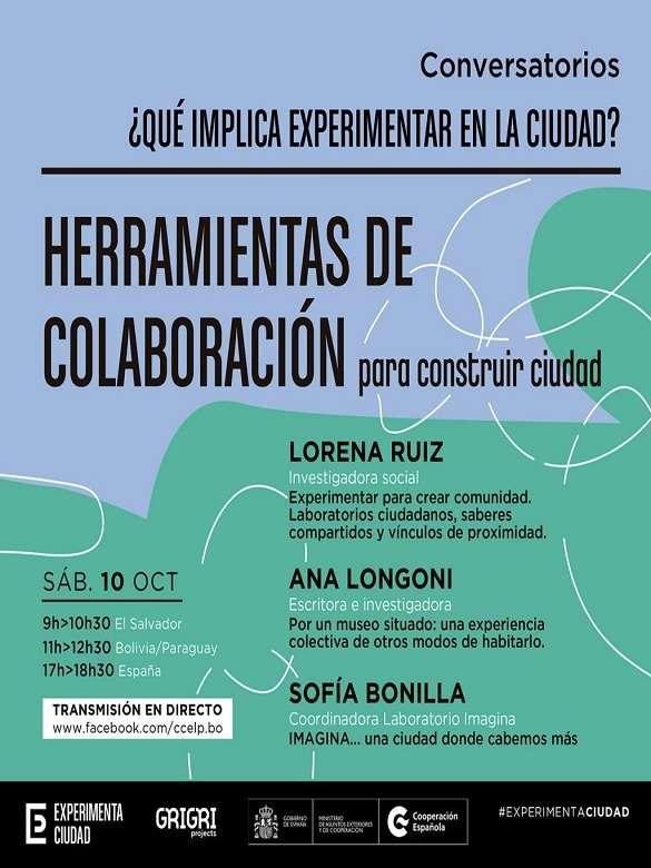 Participa en el ciclo de conferencias '¿Qué implica experimentar en la ciudad?'