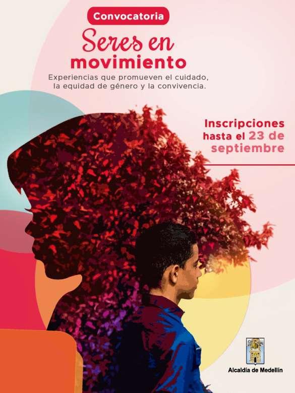 Participa en la convocatoria Seres en Movimiento, para promover la equidad de género y prevenir las violencias
