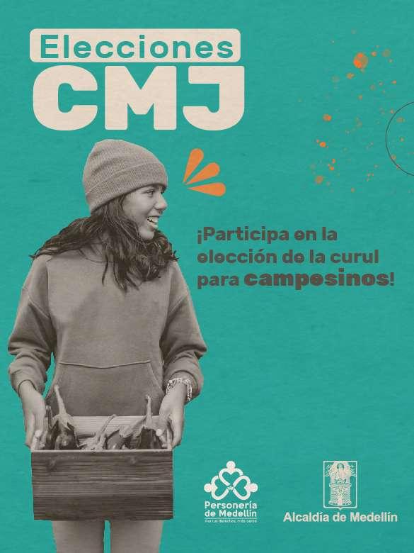 Incide en la elección de la curul de jóvenes campesinos al CMJ