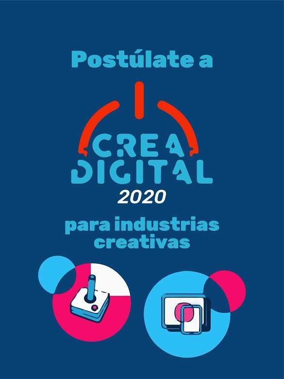 Postúlate a 'Crea Digital 2020' para las industrias creativas