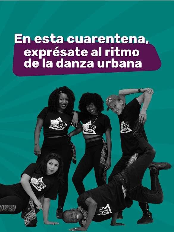 Múevete al ritmo de la danza urbana con este taller virtual de la Casa de Cultura Popular