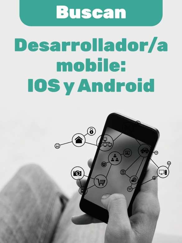 ¿Buscas empleo? Postúlate a esta vacante de Ingeniero de Sistemas: Desarrollador mobile para IOS y Android