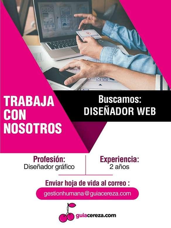 Postúlate a la vacante para Diseñador Web