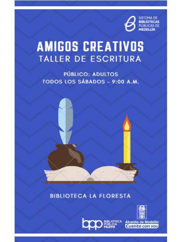 Si te gusta escribir, en La Floresta hay un taller que te va a encantar