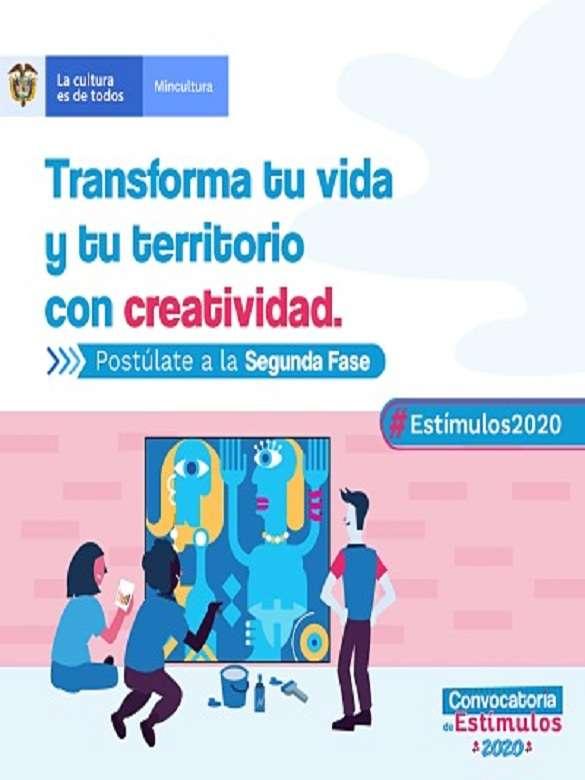 Postúlate a la segunda fase del Programa Nacional de Estímulos del Ministerio de Cultura