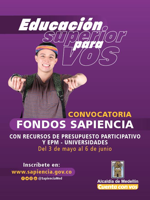 ¡Accede a la Educación Superior con los Fondos Sapiencia!