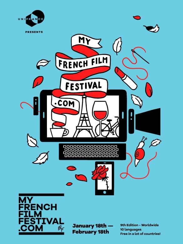 Disfruta del nuevo cine francés en este festival en línea