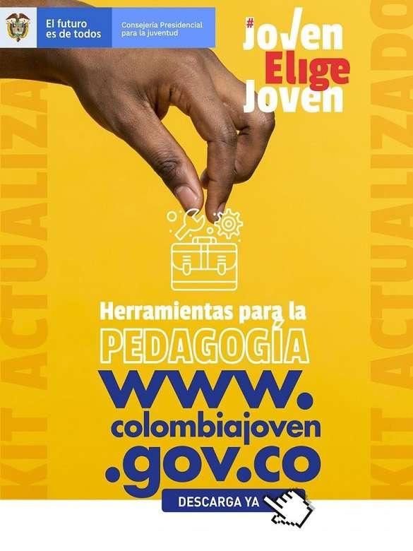 Resuelve todas las dudas que tengas sobre los Consejos de Juventud con el Kit de Herramientas de Colombia Joven