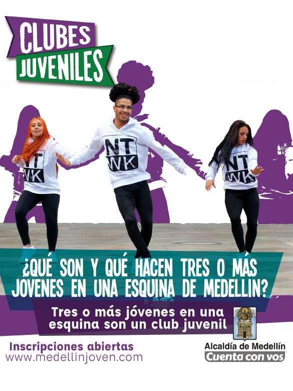 Buscamos 615 clubes juveniles de la ciudad ¡Inscríbete!