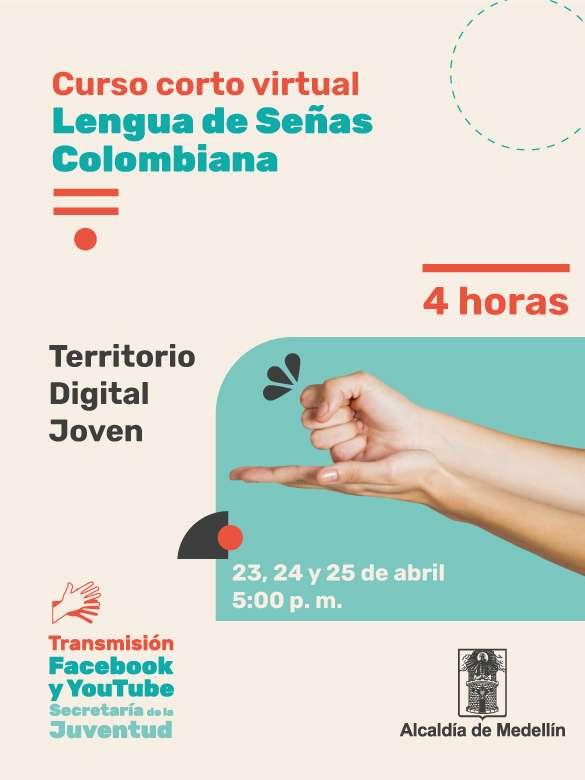 Participa en el curso de Lengua de Señas Colombiana