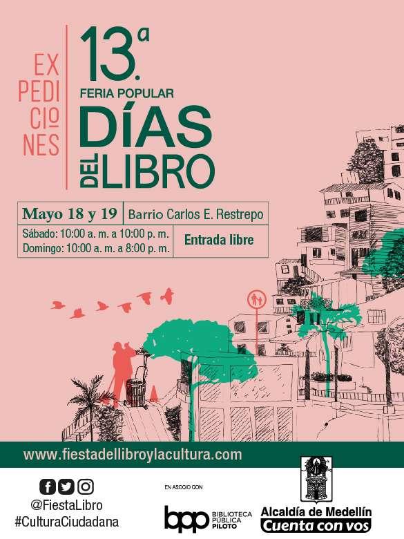 ¡Llega la 13.ª Feria Popular Días del Libro!
