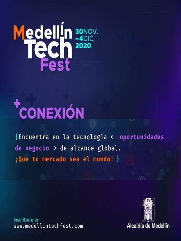 Inscríbete ya en el Medellín Tech Fest y conéctate con nuevas oportunidades de formación y negocios