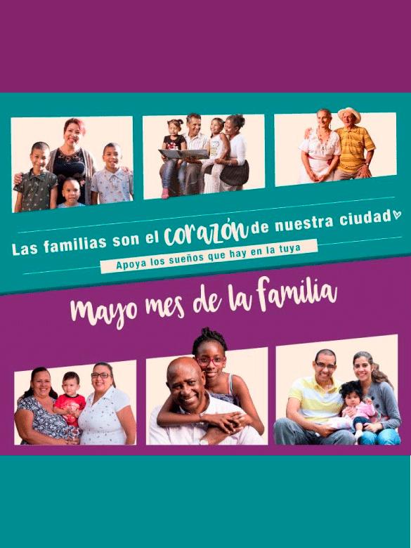 ¡Celebremos en mayo el mes de la Familia!