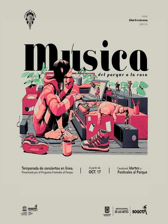 Disfruta de la temporada de concierto en línea 'Música del Parque a la Casa'