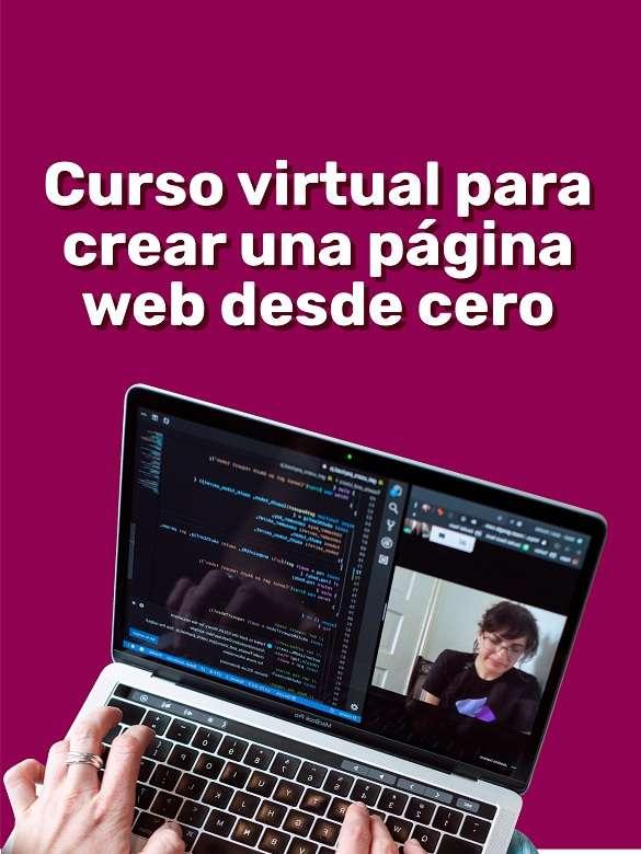 ¡Haz tu página web con este curso gratuito!