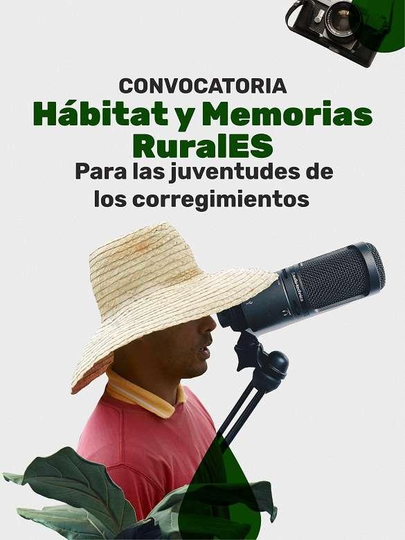 Participa en la convocatoria Hábitat y Memorias RuralES de la Secretaría de la Juventud