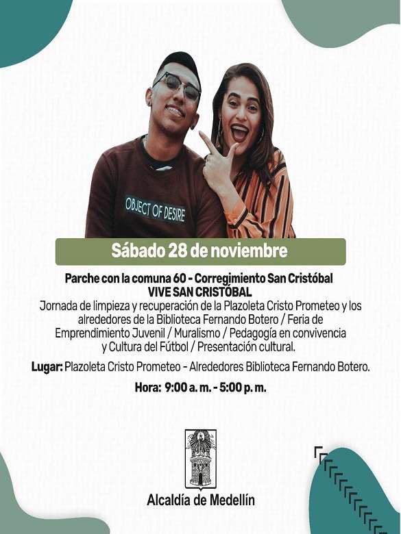 Vive San Cristóbal con este parche juvenil de la Secretaría de la Juventud