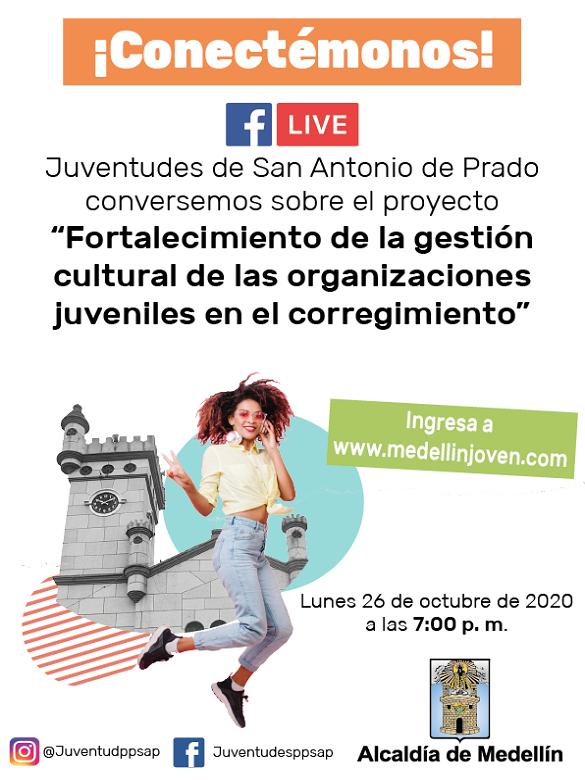 Participa en la socialización del proyecto 'Fortalecimiento de la gestión cultural y artística de las organizaciones juveniles de San Antonio de Prado'