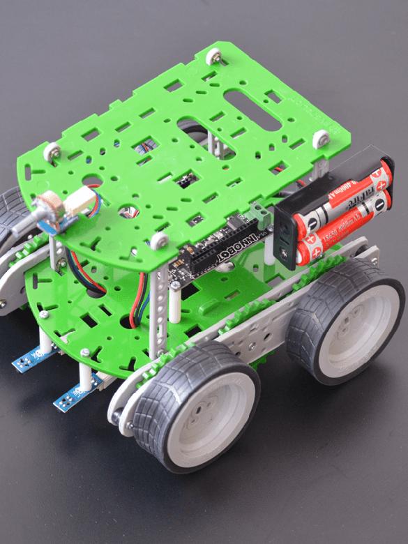Taller: ensamble y programación de un innobot