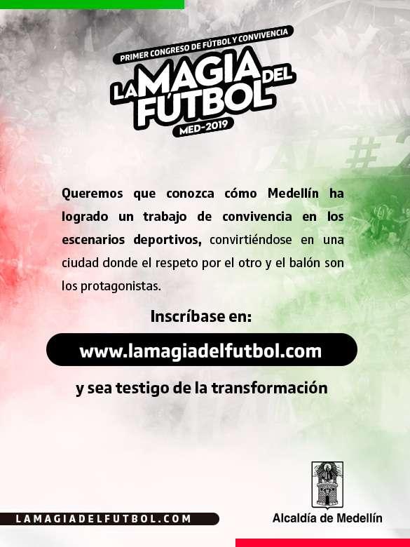 ¡Inscríbete y conoce la Magia del Fútbol!