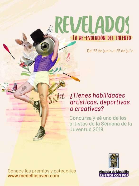 """Ya está abierta la convocatoria de """"Revelados"""", el concurso en el que podrás mostrarle al mundo tus talentos"""