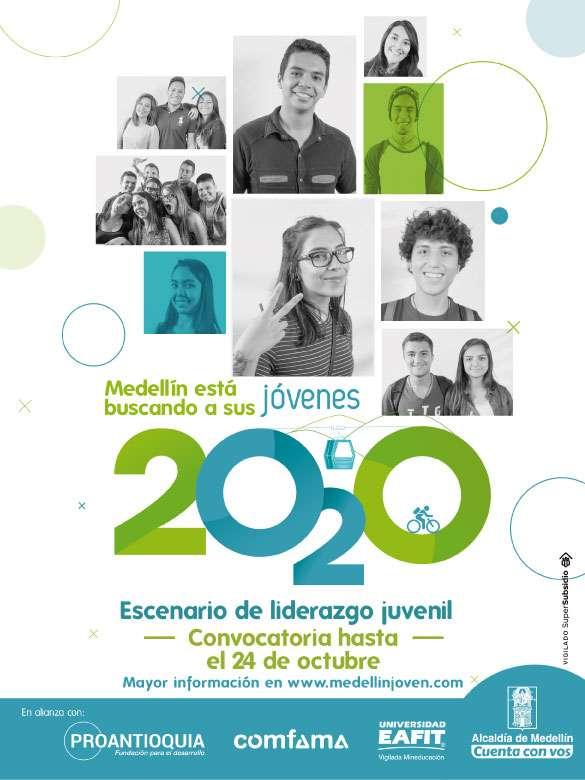 ¡Medellín está buscando sus Jóvenes 2020!