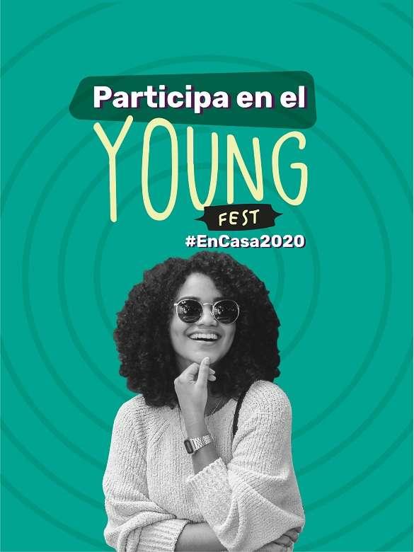 Postula tus iniciativas artísticas, culturales y deportivas y participa en el Young Fest #EnCasa2020