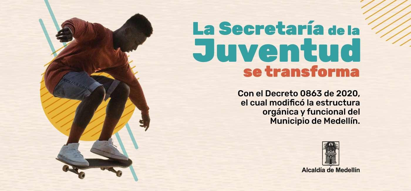 Alcaldía de Medellín: Secretaría de la Juventud
