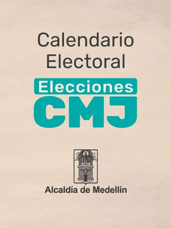Calendario electoral del CMJ