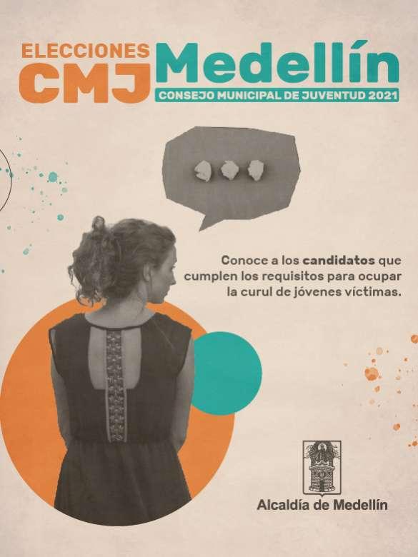 Elecciones CMJ: Curul de jóvenes víctimas